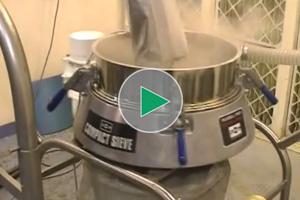 separating powder coatings