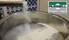Screening flour with a vibro screen