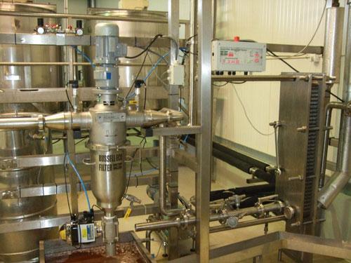 filtraggio industriale miele
