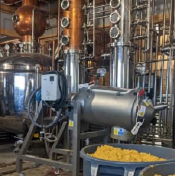 Separazione centrifuga dei liquori