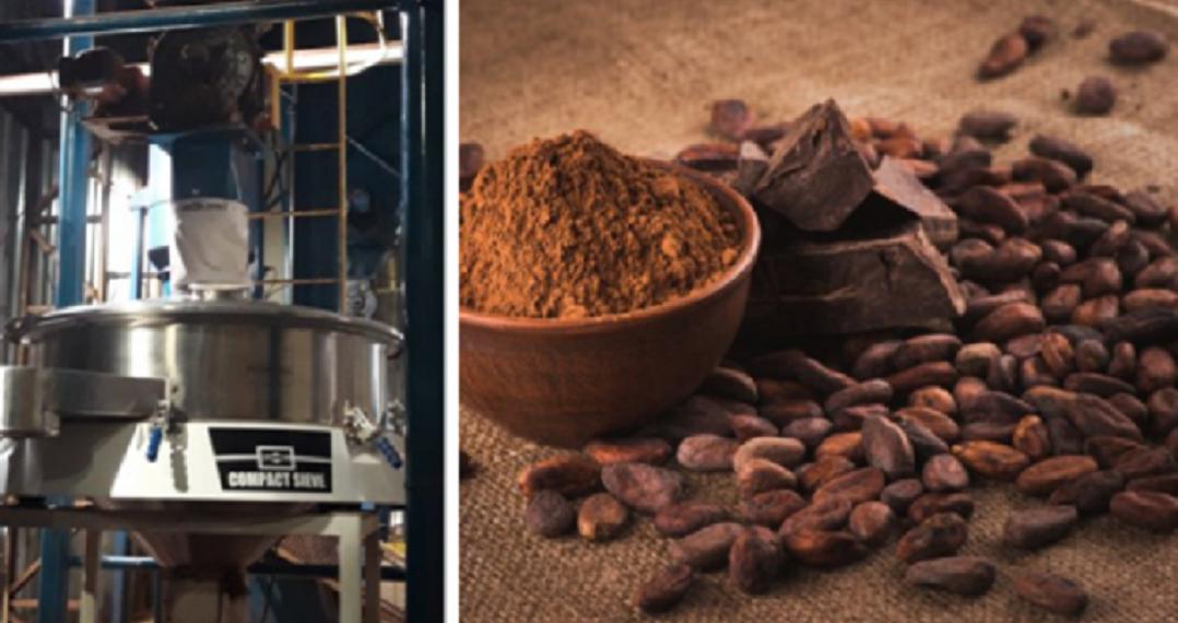 vibrovaglio circolare per cacao